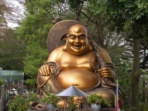 Happy Fat Buddha or Laughing Buddha
