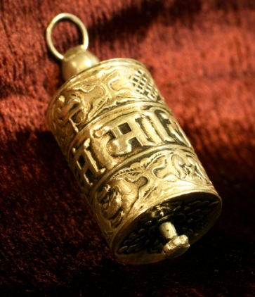 I personally have a hand held, table top, and pendant Prayer Wheel. A Prayer Wheel has a very good calming effect.