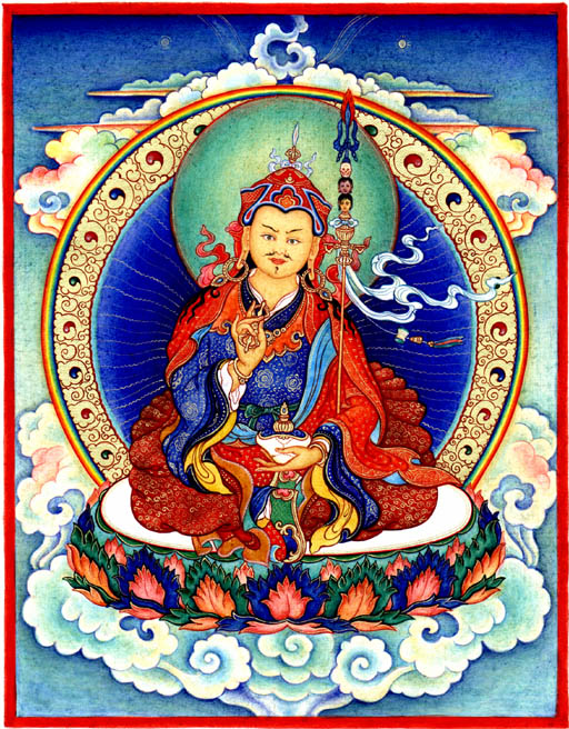 Guru Rinpoche is known for taking away obstacles.